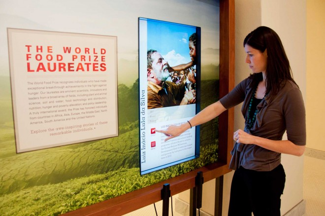 Dr. Norman E. Borlaug Educational Exhibits